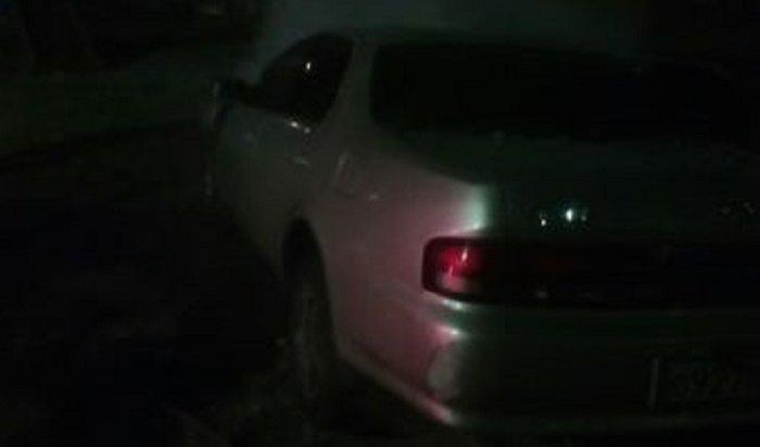 В Ангарске ночью 13 ноября сгорел автомобиль Toyota Cresta