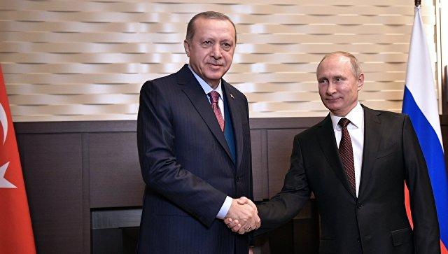 В Сочи состоялись четырехчасовые переговоры Путина и Эрдогана