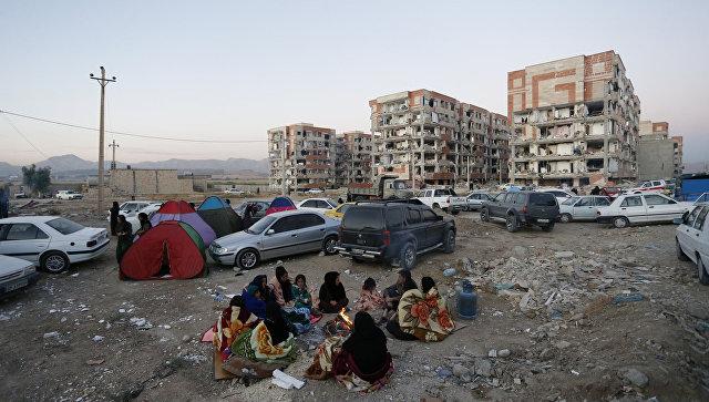 Число жертв землетрясения в Иране возросло до 414 человек