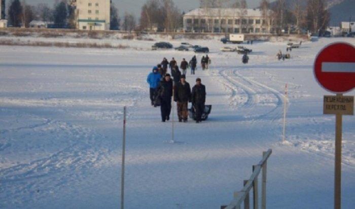 В Иркутской области открыт первый ледовый переход на реке Лене