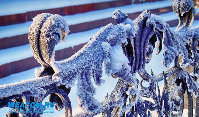 В Иркутской области 16 ноября ожидаются морозы до -38°