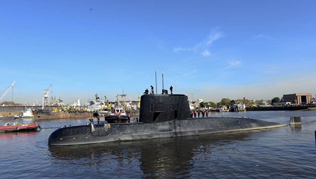 С потерянной подлодки ВМС Аргентины могли отправить семь сигналов