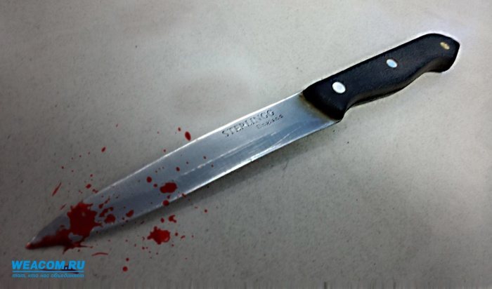 В Омске беременная женщина кинула в балующегося сына нож