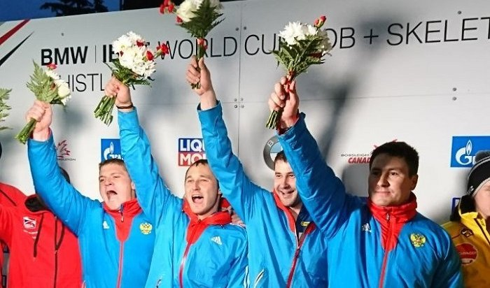 Экипаж братчанина Александра Касьянова одержал победу наэтапе Кубка мира побобслею