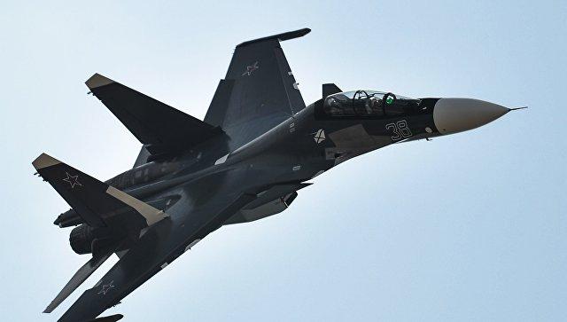 Пентагон: «Российский Су-30перехватил над Черным морем самолет ВМС США»