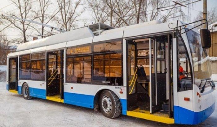 ВИркутске появится пять новых троллейбусов в2018году