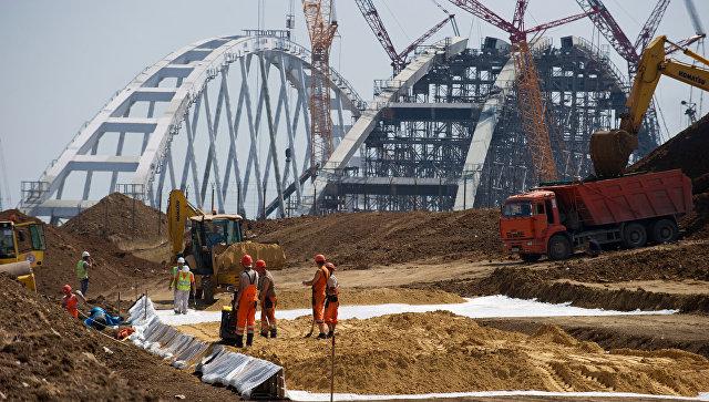 Россия ответила напризыв Киева прекратить строительство Керченского моста