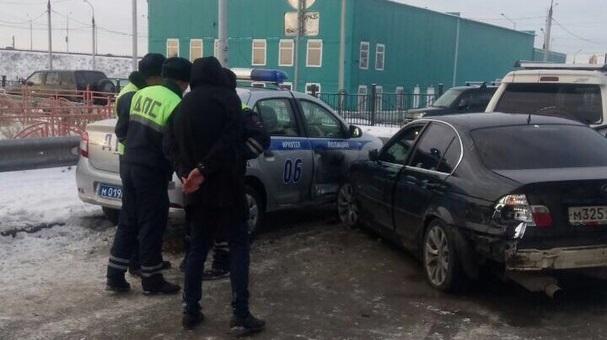 ВИркутске впогоне со стрельбой был обезврежен водитель, устроивший беспредел на дороге