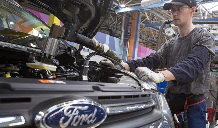 Ford отзовет вРоссии более 13тысяч фургонов Transit