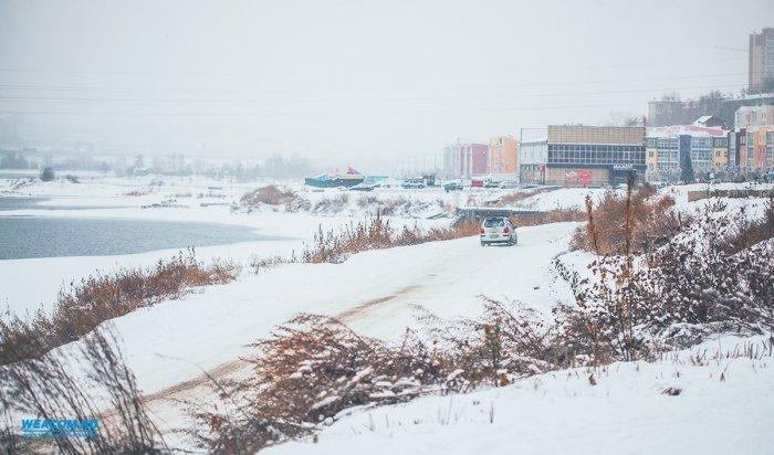 Сильный снег иметели ожидаются 8 декабря в Иркутской области
