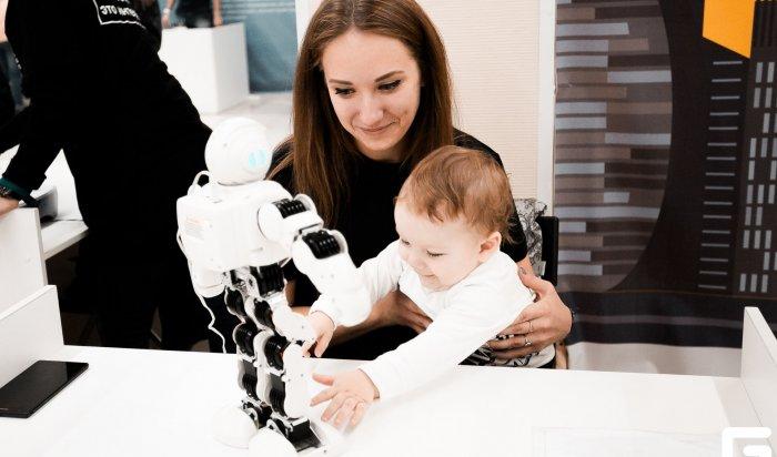 В Иркутске открылась интерактивная научная выставка «Корпорация Роботов» (Видео)