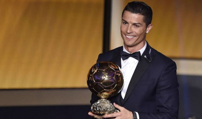 Роналду стал пятикратным обладателем «Золотого мяча»