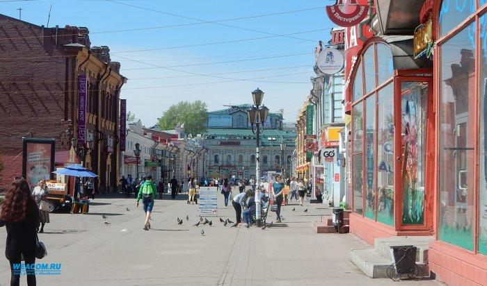 В Иркутске в два этапа благоустроят улицу Урицкого
