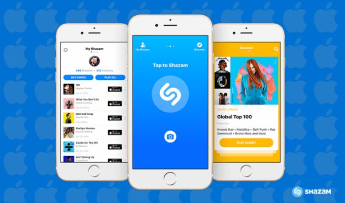 СМИ: Apple купит приложение Shazam за 400 миллионов долларов