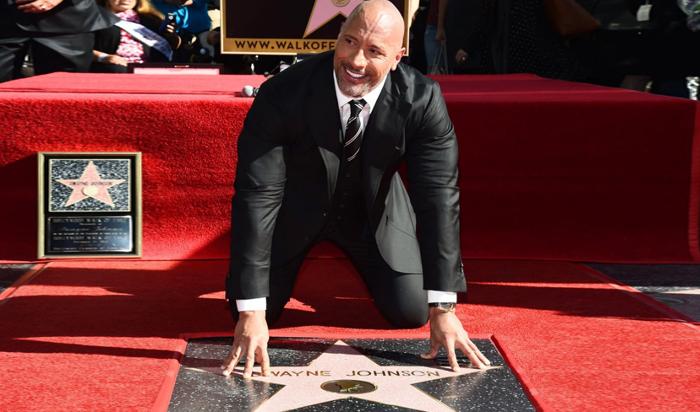Дуэйн Джонсон получил звезду на«Аллее славы»