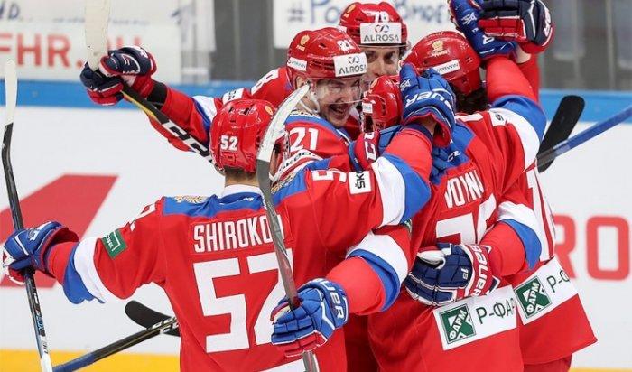 Сборная России по хоккею уверенно обыграла команду Швеции