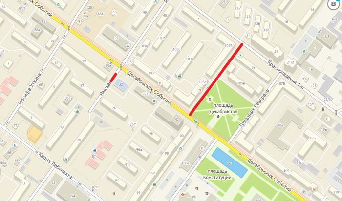В Иркутске на неделю закрыли проезд по улице Ямской и Плеханова