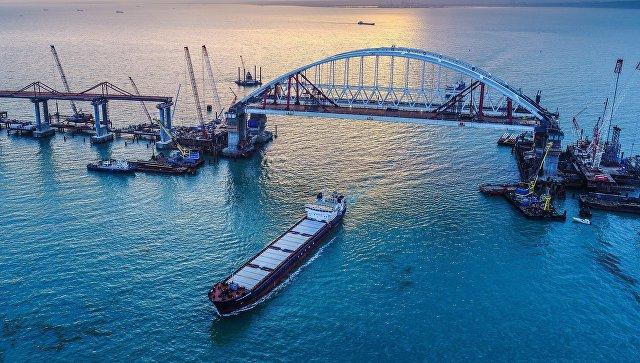 Новый «Крымский мост» будет обозначен на топографических картах
