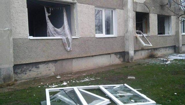 В общежитии в  крымском селе взорвался газ