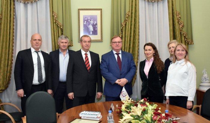 Правительство Иркутской области и Российский книжный союз начали сотрудничать