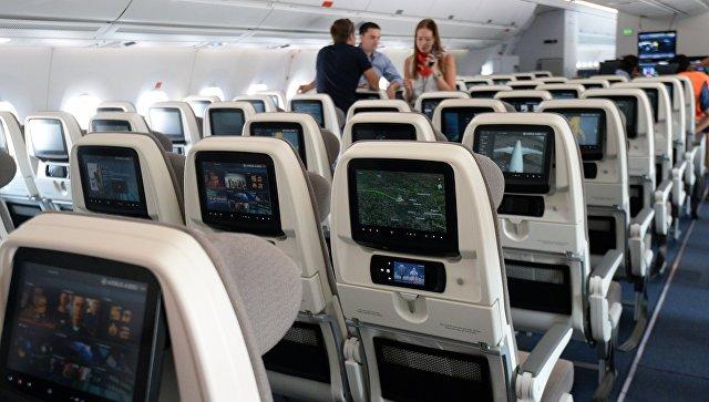 В Калининграде пассажиры самолета устроили поножовщину из-за плохо пахнущих носков