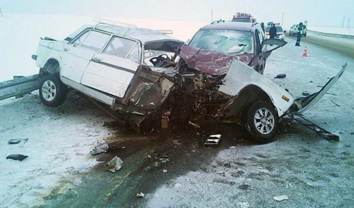 В аварии в Аларском районе погибли два человека