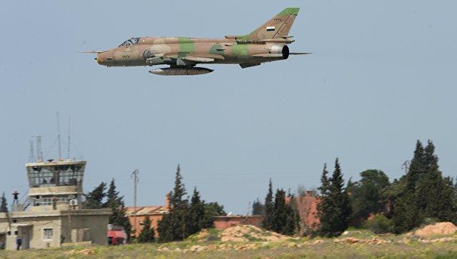 Террористы сбили самолет ВВС Сирии в провинции Хама