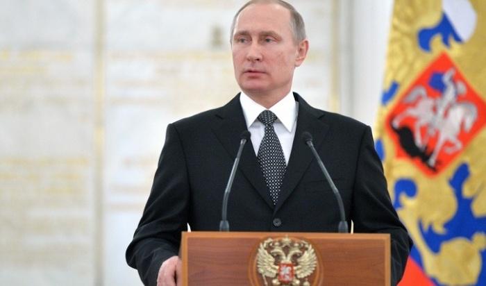 Путина официально выдвинули кандидатом впрезиденты
