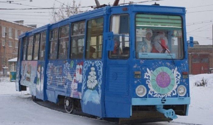 В Иркутске в новогоднюю ночь общественный транспорт будет ходить до 02:00