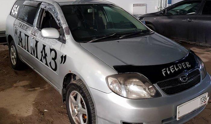 Двоих граждан Черемхово задержали заизбиение таксиста досостояния комы