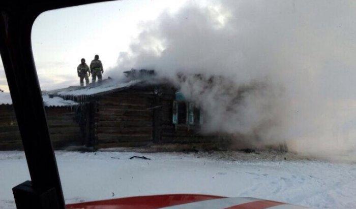 ВЭхирит-Булагатском районе на пожаре погибли два человека