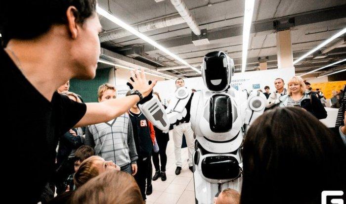 Научная выставка роботов вИркутске приглашает гостей перед закрытием