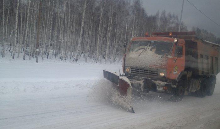 В Иркутской области с 1 января приведено в порядок более 60 автодорог