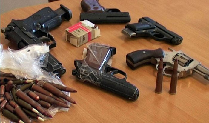 В 2017 году у жителей Приангарья изъяли 7000 единиц незаконного оружия
