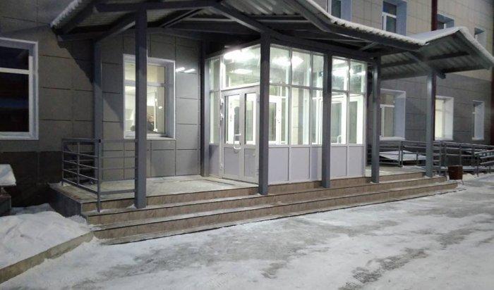 В Мегете завершили реконструкцию здания поликлиники