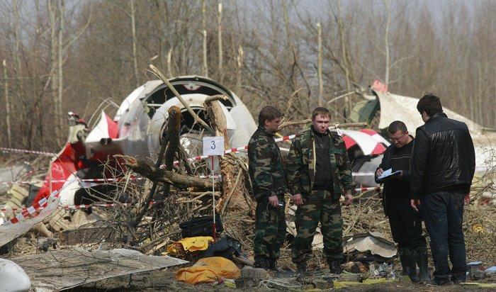 Польша считает взрыв причиной падения Ту-154под Смоленском в2010году