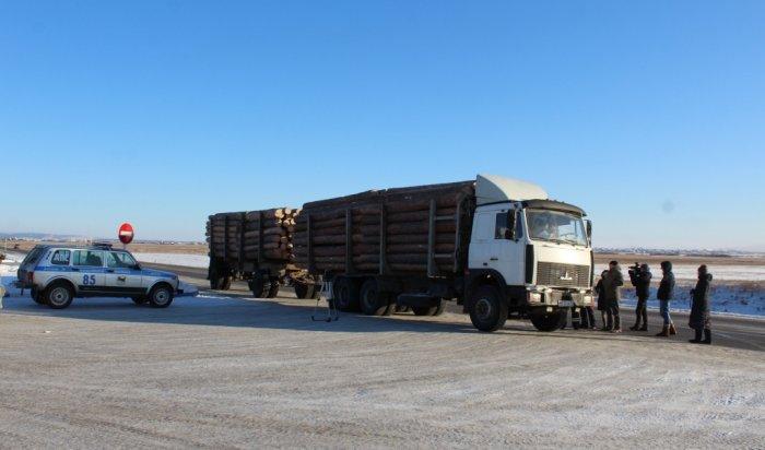 В Иркутской области выявлено 77 фактов незаконных рубок древесины