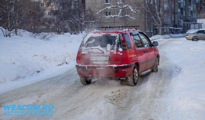 Где в Иркутске не убирают снег на дорогах? (фоторепортаж)