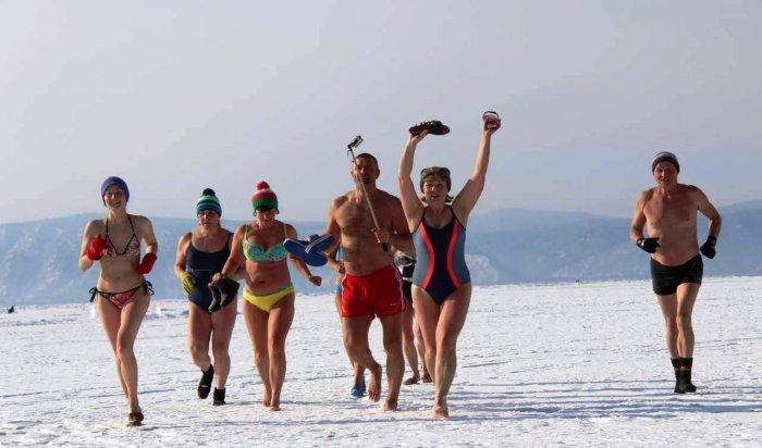 13 января в Иркутске состоится новогодний забег «моржей» в купальниках