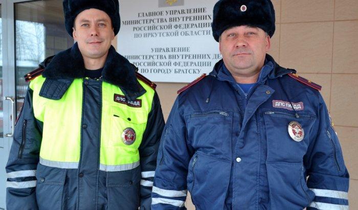 В Братске экипаж ДПС спас таксиста от вооруженного пассажира