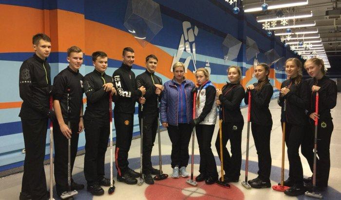 Cборная команда Иркутской области по керлингу отправится на тренировки в Китай