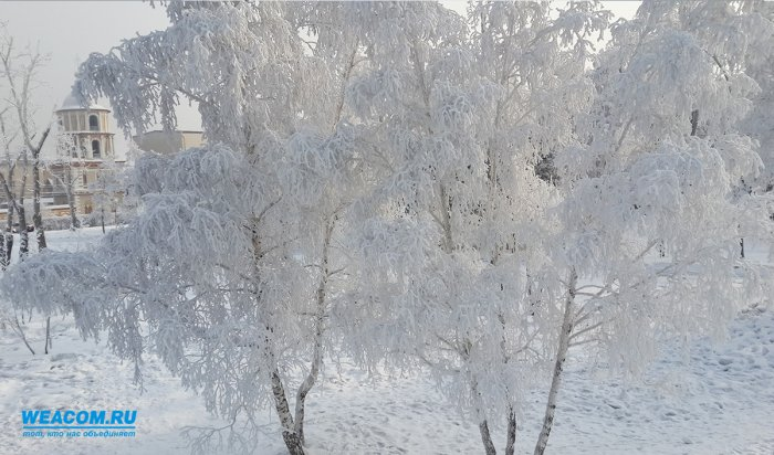 Граждан Иркутска ожидают крещенские морозы