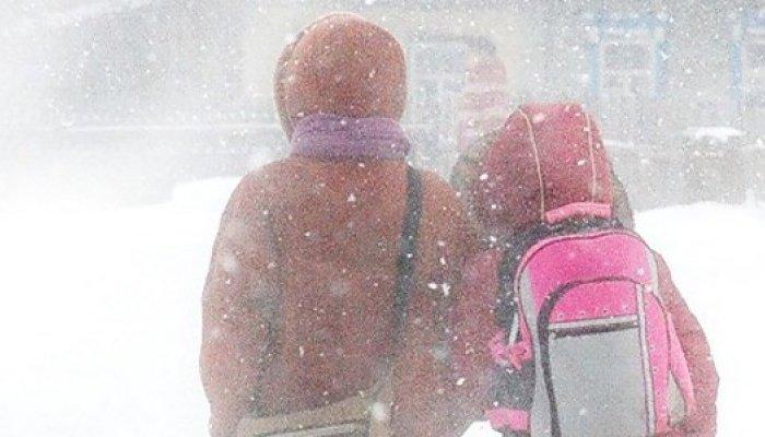 В Иркутске регламентировали посещение детьми школ в морозы