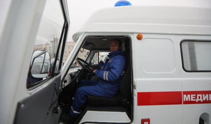 Всем моногородам Иркутской области выделили новые машины скорой помощи