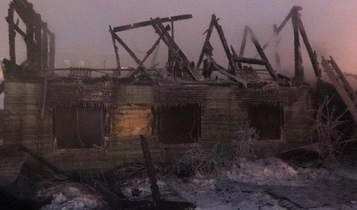 В Иркутске при пожаре на улице Партизанской спасены четыре человека