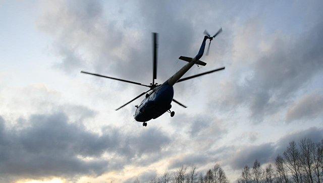 На Украине разбился вертолет Ми-8