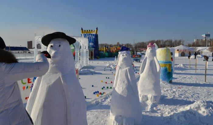 Семейный конкурс снежной скульптуры «День Снеговика» пройдет вИркутске 4февраля