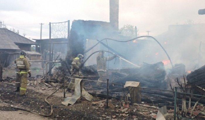 Предполагаемый виновник пожара, уничтожившего 16 домов, предстанет перед судом вИркутской области