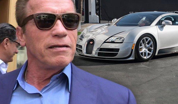 Шварценеггер продал свой автомобиль Bugatti Veyron за2,5млн долларов