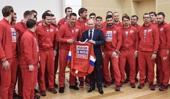Путин извинился перед российскими олимпийцами